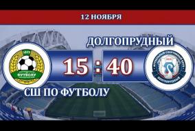 СШ по футболу г. Краснодар – Долгопрудный г. Долгопрудный, Видео