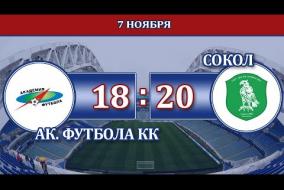 АФКК г. Краснодар – Сокол г. Махачкала, Видео